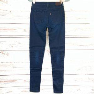 LEVI'S Legging Skinny Dark blue jeans Size-26